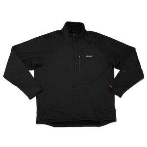 Patagonia Half-Zip Pullover Shirt Black